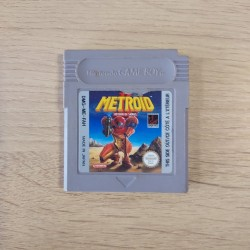 METROID 2 FAH LOOSE GAME BOY ETIQUETTE ABIMEE
