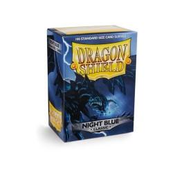 100 SLEEVES DRAGON SHIELD CLASSIC NIGHT BLUE