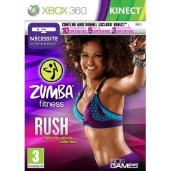 ZUMBA FITNESS RUSH COMPLET XBOX 360