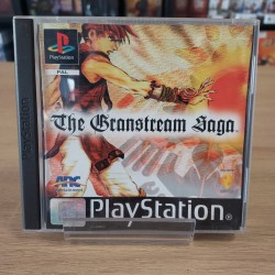 THE GRANSTREAM SAGA COMPLET JAQUETTE ABIMEE PS1
