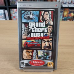 GTA LIBERTY CITY STORIES COMPLET PLATINUM PSP