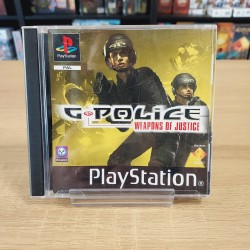 G POLICE WEAPONS OF JUSTICE COMPLET PS1
