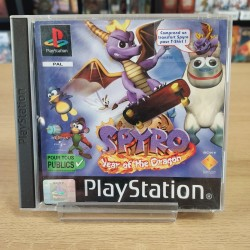 SPYRO YEAR OF THE DRAGON COMPLET PS1