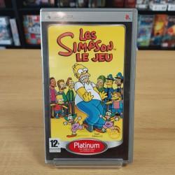 LES SIMPSONS LE JEU PLATINUM COMPLET PSP