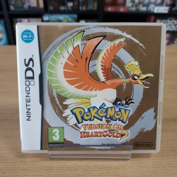 POKEMON OR HEARTGOLD COMPLET CARTE VIP NON GRATTEE DS
