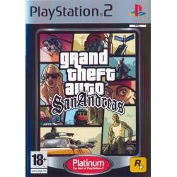 GTA SAN ANDREAS PLATINUM SANS NOTICE PS2