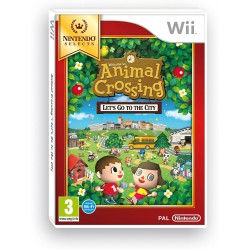 ANIMAL CROSSING NINTENDO SELECTS COMPLET WII