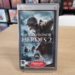 MEDAL OF HONOR HEROES 2 PSP PLATINUM COMPLET