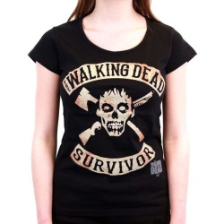 TSHIRT THE WALKING DEAD SURVIVOR