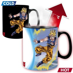 DRAGON BALL Z MUG THERMO-REACTIF GOKU VS BUU