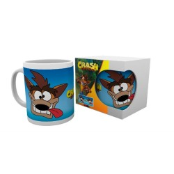 MUG CRASH BANDICOOT CARTOON GRIMACE