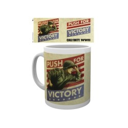 MUG CALL OF DUTY WW2 PUSH FOR VICTORY