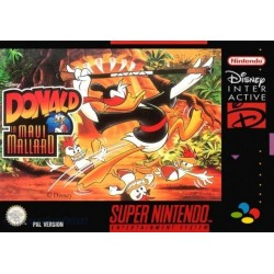 DONALD IN MAUI MALLARD OCCASION SNES PAL VERSION
