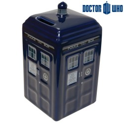 TIRELIRE CERAMIQUE DOCTEUR WHO TARDIS