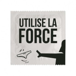PRESERVATIF UTILISE LA FORCE