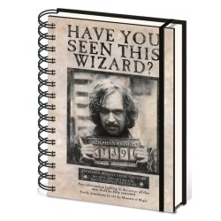 CARNET A SPIRALES HARRY POTTER WANTED