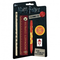 FOURNITURES SCOLAIRES HARRY POTTER SET PAPETERIE