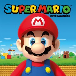 CALENDRIER 2019 SUPER MARIO