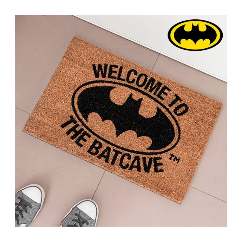 PAILLASSON BATMAN WELCOME TO THE BATCAVE DC COMICS