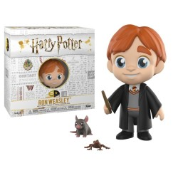 FIGURINE 5 STAR HARRY POTTER RON WEASLEY ET CROUTARD