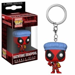 PORTE CLES FUNKO POCKET POP DEADPOOL BATHTIME