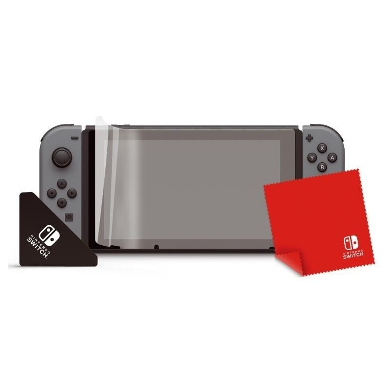 KIT DE PROTECTION ET NETTOYAGE NINTENDO SWITCH