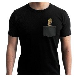 T-SHIRT MARVEL GARDIENS DE LA GALAXIE POCKET GROOT