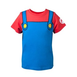 T-SHIRT NINTENDO SUPER MARIO NOVELTY ENFANT
