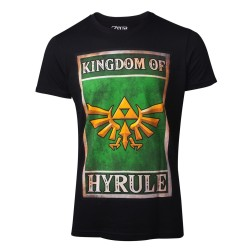 T-SHIRT THE LEGEND OF ZELDA PROPAGANDA KINGDOM OF HYRULE