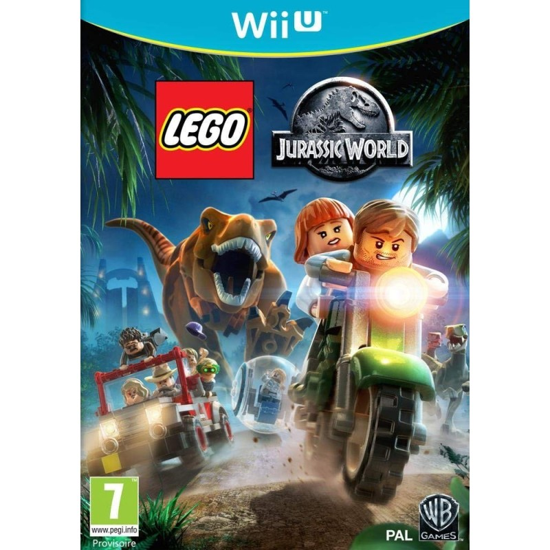 lego jurassic world sur wii u occasion au meilleur prix. Black Bedroom Furniture Sets. Home Design Ideas