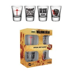 SHOT GLASSES WALKING DEAD