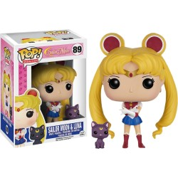 FUNKO POP! SAILOR MOON ET LUNA N°89