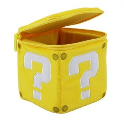PELUCHE NINTENDO COIN BOX QUESTION BLOCK 13 CM
