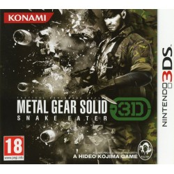 METAL GEAR SOLID SNAKE EATER 3D OCCASION SUR NINTENDO 3DS
