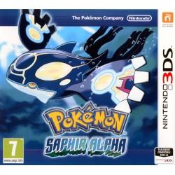 POKEMON SAPHIR ALPHA OCCASION SUR NINTENDO 3DS