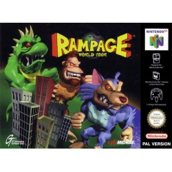RAMPAGE : WORLD TOUR PAL SUR NINTENDO 64 OCCASION