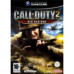CALL OF DUTY 2 BIG RED ONE OCCASION SUR NINTENDO GAMECUBE