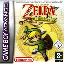 CARTOUCHE THE LEGEND OF ZELDA THE MINISH CAP OCCASION SUR GBA