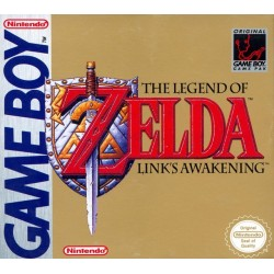 CARTOUCHE THE LEGEND OF ZELDA LINK'S AWAKENING SUR GAME BOY