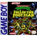 CARTOUCHE SEULE TMNT : FALL OF THE FOOT CLAN OCCASION GAME BOY