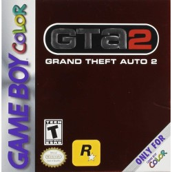 CARTOUCHE SEULE GRAND THEFT AUTO 2 GAME BOY COLOR
