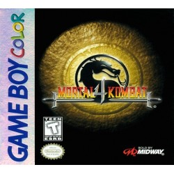 CARTOUCHE SEULE MORTAL KOMBAT 4 GAME BOY VERSION PAL