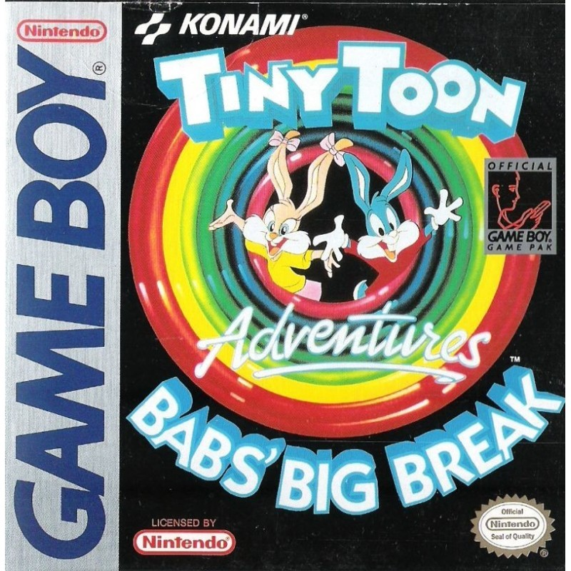 CARTOUCHE TINY TOON ADVENUTURES : BABS' BIG BREAK GAME BOY PAL