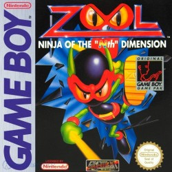 """CARTOUCHE SEULE GAME BOY ZOOL : NINJA OF THE """"NTH"""" DIMENSION"""