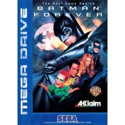 BATMAN FOREVER SUR MEGA DRIVE COMPLET PAL VERSION