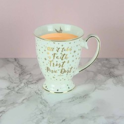 MUG TASSE DISNEY FEE CLOCHETTE CITATION PIXIE DUST