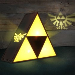 LAMPE THE LEGEND OF ZELDA TRIFORCE - GOLDEN POWER