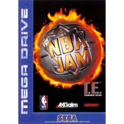 NBA JAM TOURNAMENT EDITION LOOSE SUR MEGA DRIVE
