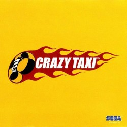 CRAZY TAXI SUR DREAMCAST PAL VERSION
