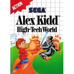 ALEX KIDD HIGH-TECH WORLD OCCASION SUR MASTER SYSTEM